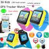 3G/WCDMA het Slimme Horloge van de Jonge geitjes van de Gift van de bevordering met GPS Drijver D18