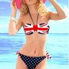 Reizvoller Bikini mit kundenspezifischem Firmenzeichen zu niedrigstem Preis