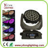 36X10W RGBW die Hoofd LEIDENE van het Gezoem Verlichting bewegen
