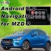 Plug&Play Android 6.0 Система навигации GPS для 2014-2018 Mazda 2 3 6 с WiFi Mirrorlink онлайн-карте оригинальные ручки управления