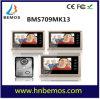 Interfone video 1-Camera do Doorbell do telefone da porta de 7 polegadas 3-Monitor