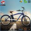 bicyclette électrique de croiseur de plage d'homme du vélo 250W
