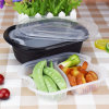 Großhandelsverpackenwegwerf-pp. Plastikschnellimbißbehälter der anlieferung mit Kappe