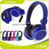 深く青い高品質の卸売のステレオのヘッドホーンのヘッドホーン
