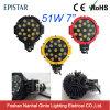 51W zwart/Rood/Geel Aluminium die Offroad LEIDENE Licht van het Werk huisvesten