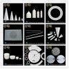 Nitruro di ceramica/esagonale tecnico avanzato del boro/parti di ceramica di Bn