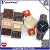 Signora quadrata di lusso Wristwatch Fashion Promotional OEM Watches del quarzo di Elgant di moda dell'orologio delle donne della vigilanza di modo Yxl-178