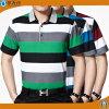 2017 Hommes Yarn Dye Stripe Polo T-shirts Coton Polo