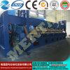 Máquina de rolamento simétrica hidráulica da placa de três rolos Mclw11nc-16*9000, máquina de dobra