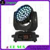 36X10WズームレンズLEDの移動ヘッド洗浄DJ LEDの軽いディスコ