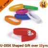 Clé de mémoire USB colorée de Wrisband de sports pour le cadeau de club (YT-6302)