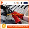 Werkende Handschoen van de Handschoen van de Veiligheid van de Handschoen van het Leer van de Koe van Ddsafety 2017 de Rode Gespleten