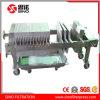 Filtre-presse de bâti de plaque de catégorie comestible avec le revêtement de l'acier inoxydable 316