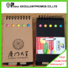 Custom barato Promotional Recycled Notebook com Pen (EP-B55512)