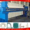 Filtro de la prensa de la placa y de filtro del marco para el aceite de oliva