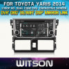 Witson Car DVD para Toyota Vios 2014 (New Arrival) (W2-D8113T) Controle do volante com tela capacitiva CD Copy 3G WiFi RDS