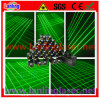32 luces móviles de la cortina del laser del verde de la lente