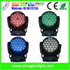 Nouvelles LED 108X3w Moving Head Wash avec effet de zoom