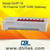 DBL 16 GSM van VoIP van Kanalen Gateway goIP-16
