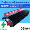 DC에 AC 1200W Full Power Frequency Inverter 12V 220V