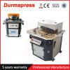 Machine de entaille hydraulique de cornière fixe inoxidable de la plaque Qf28y-8X300
