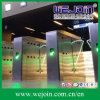 220V Intelligent Flap Barrier com Organic Glass Wing