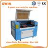 Máquina de estaca de madeira MID-Size da gravura do laser do CO2 da gravura 80W da estaca