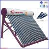 aço inoxidável Non-Pressurized aquecedor solar de água