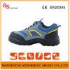 De Britse Schoenen RS188 van de Veiligheid van de Hamer van de Stijl Blauwe