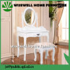 Mobiliário moderno Penteadeira com fezes de madeira (W-HY-031)