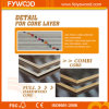 Brown Film Faced Plywood per Concrete Shuttering (FYS007W)