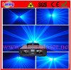 Sistema azul dobro da mostra do laser do efeito