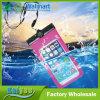 PVC/EVA+ABS de multifunctionele Waterdichte Zak van de Telefoon met Kabel