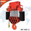 grue 45t à chaînes électrique avec le crochet
