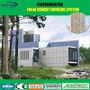 Da exportação modular de vidro da casa do contentor casa pré-fabricada minúscula