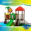 Equipo barato del patio de Slideoutdoor del jardín de la infancia 2015 para los cabritos