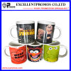 Bright stampato Ceramic variopinto Mug per Promotional (EP-M9154)