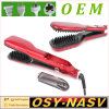 2016 Lately Design Electric Steam Hair Straightener Comb Ferro Cerâmica