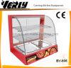 De elektrische Verwarmende Showcase van de Vertoning van het Glas, het Verwarmingstoestel van het Voedsel (BV-808)