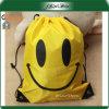 顧客によって印刷されるポリエステルかわいいドローストリングのギフト袋