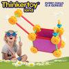 天才赤ん坊は熱い販売の教育のおもちゃのプラスチックブロックをもてあそぶ