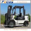 새로운 도착 트럭 콘테이너 상자 사용을%s 단단한 타이어를 가진 포크리프트 3 톤