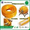 желтый цвет PVC 10mm 3 аграрного высокого слоя шланга брызга давления
