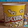 Benna riutilizzabile della vasca dei supporti del popcorn & dei recipienti di plastica della ciotola