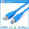 Velocidad del USB 3.0 al cable del USB del Bm