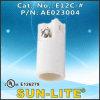E12 candelabro portalámparas de porcelana E12c