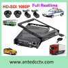 Kabeltelevisie HD 1080P 4CH Mobile DVR Vehicle Monitoring Systems
