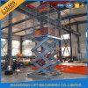 2.5m die hydraulische örtlich festgelegte elektrische Ladung Scissor Aufzug-Plattform