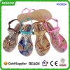 Las últimas sandalias de moda de las señoras de la impresión del verano (RW28054)