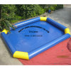 Piscina inflable grande de la nadada con la cubierta